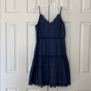 Endless Rose Blue Spaghetti Strap Dress